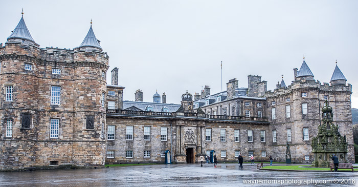 The Queen's Scottish residence, Holyrood Palace