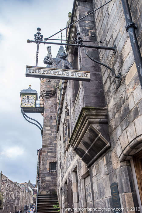 The People's Story museum on the Royal Mile