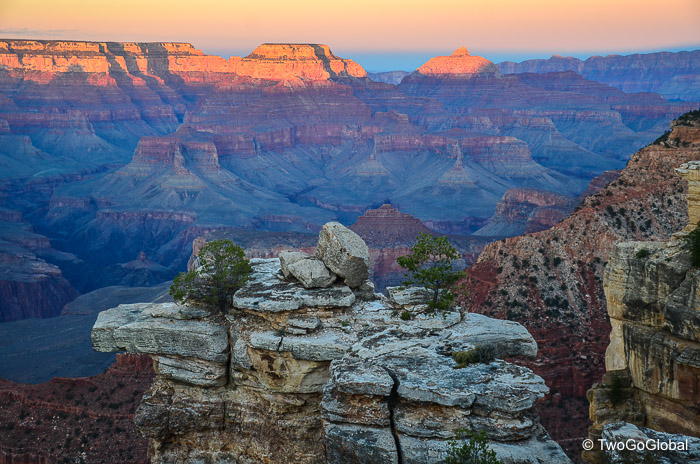 One of the Seven Natural Wonders, the Grand Canyon