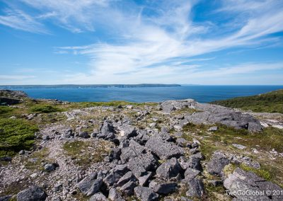 The larger island of Miquelon-Langlade