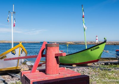 Colorful fishing boats of Saint-Pierre