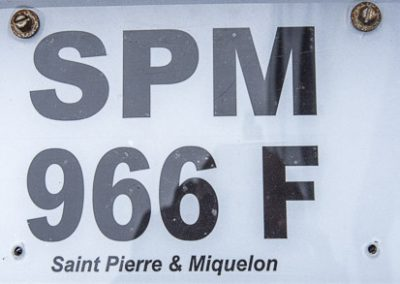 Saint-Pierre & Miquelon vehicle plate