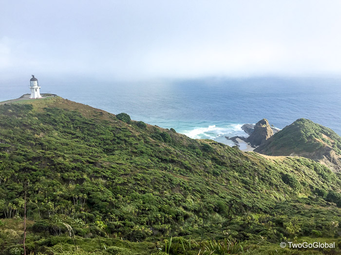 A misty morning over Cape Reinga