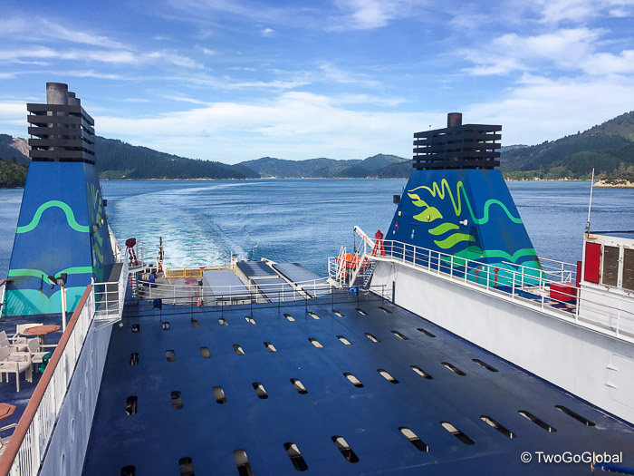 Cook Strait ferry crossing
