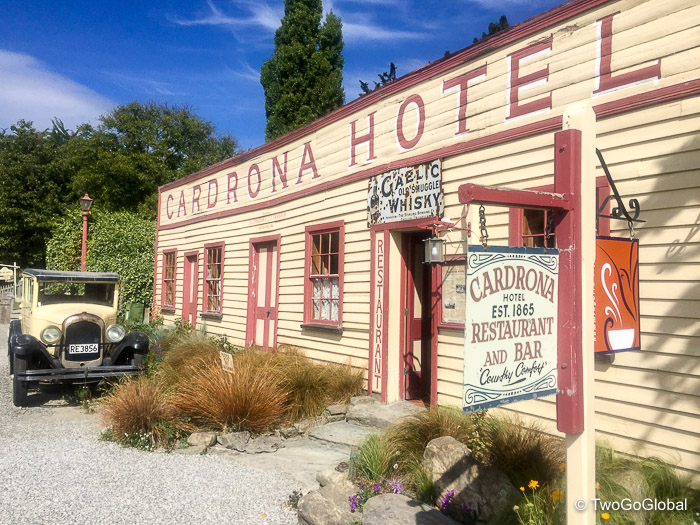 Cardrona Hotel in the Crown Range