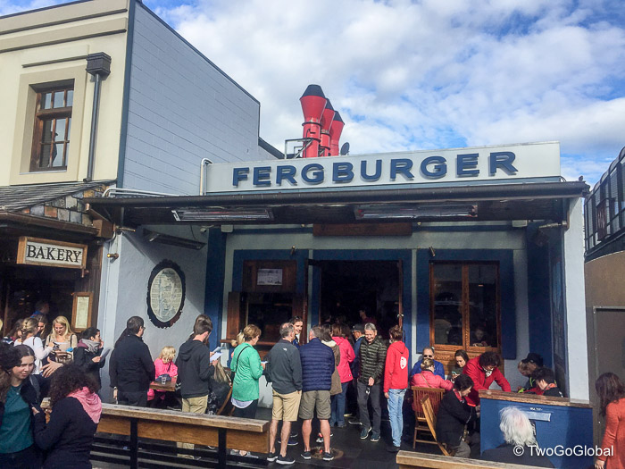 Queenstown's forever busy Fergburger