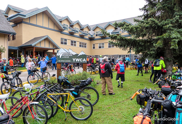 YWCA in Banff on race morning