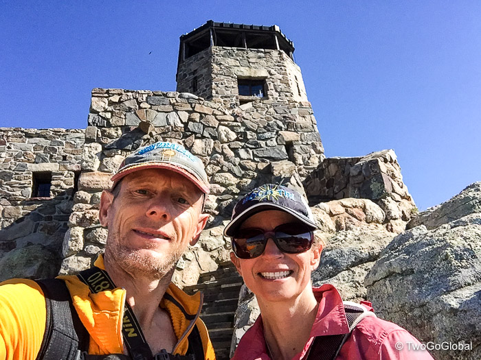 The top of SD, our 21st highpoint