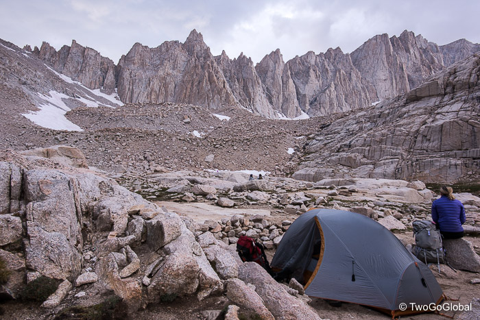 Trail Camp, 4 miles from Whitney Summit