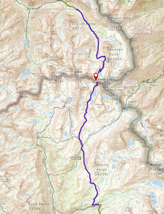 Day 3 route map