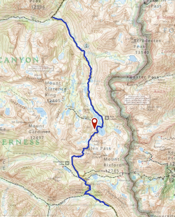 Day 4 route map